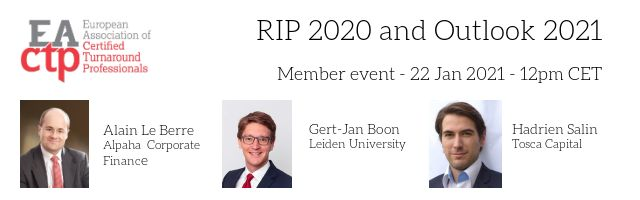 RIP 2020 and Outlook 2021